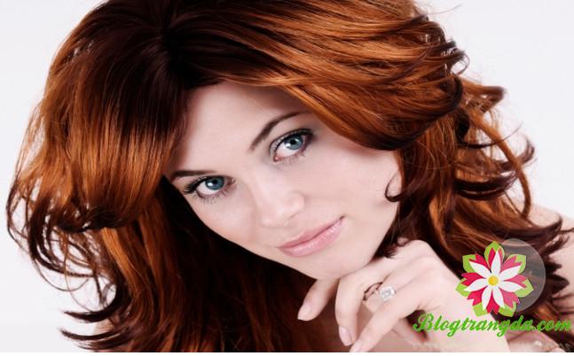 tóc hợp với màu da