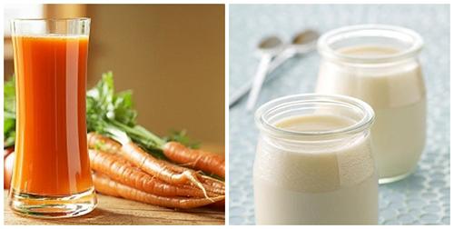Mặt nạ cà rốt sữa chua giúp đánh bay trứng cá, cho làn da thêm hoàn hảo