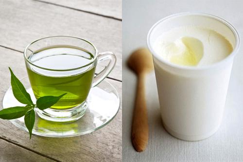 Mặt nạ trà xanh - sữa tươi cho làn da sáng mịn màng