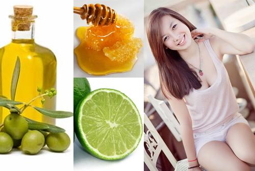 Cách làm trắng da toàn thân bằng dầu oliu và mật ong