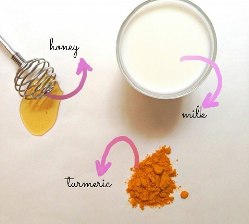 cách làm trắng da mặt bằng nghệ, sữa tươi và mật ong
