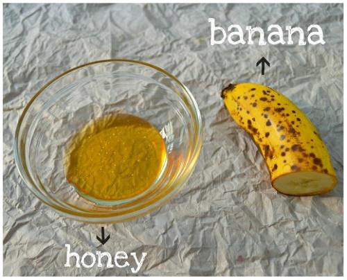 cách làm trắng da mặt đơn giản nhất từ Chuối và Mật ong