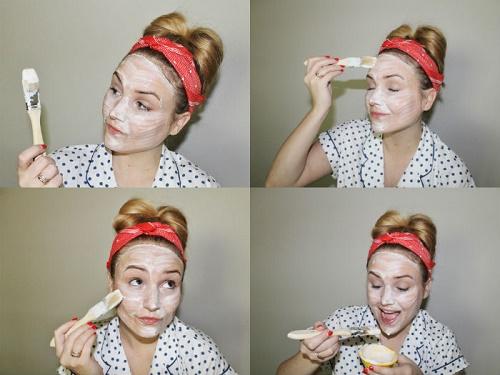 cách làm trắng da mặt nhanh nhất từ thiên nhiên bằng sữa chua mật ong và nước cốt chanh