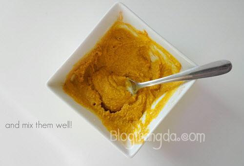 cách trị mụn trứng cá không để lại vết thâm từ bột nghệ, mật ong và sữa chua