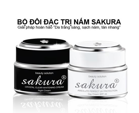 Chia sẻ cách sử dụng kem trị nám Sakura cho chị em