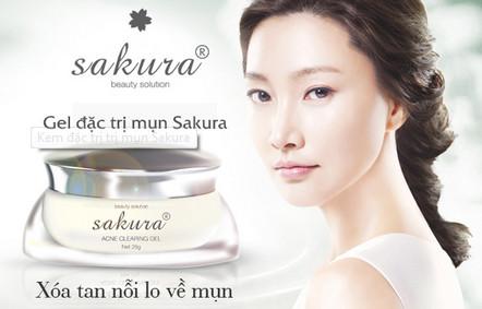 Kem đặc trị mụn sakura