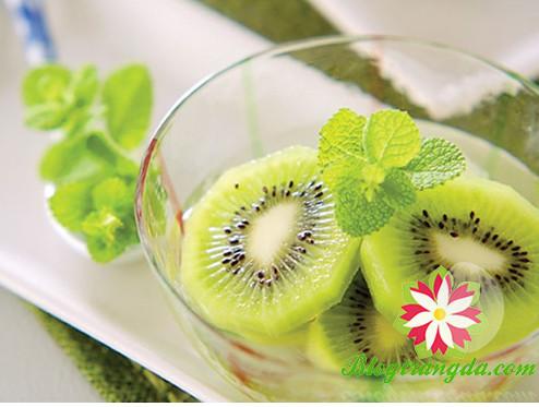 làm trắng da bằng trái cây