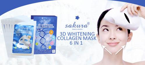 mặt nạ trắng da sakura