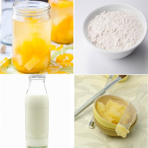 Cách làm trắng da toàn thân bằng dứa và hoa quả