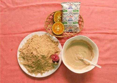 Cách làm trắng da toàn thân bằng Sữa tươi và cám gạo