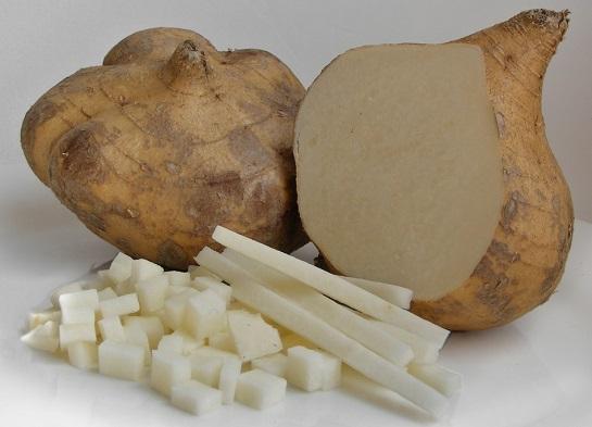 Cách làm trắng da toàn thân nhanh nhất bằng Củ đậu (sắn)