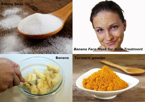Hướng dẫn cách làm trắng da mặt an toàn từ Chuối, bột nghê và baking soda