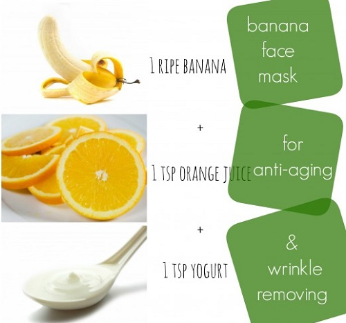 Hướng dẫn cách làm trắng da mặt an toàn từ Chuối, nước cam và sữa chua