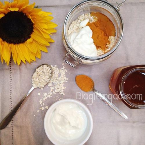 cách làm trắng da có hiệu quả nhất hiện nay từ bột nghệ