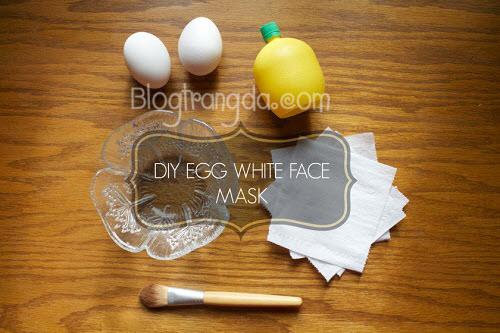 cách trị mụn đầu đen bằng lòng trắng trứng triệt để