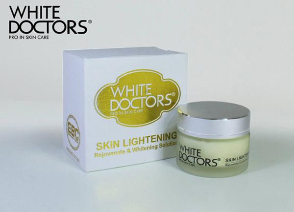 dòng kem dưỡng trắng da mặt nào tốt- White Doctors