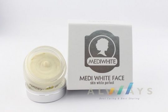 kem dưỡng trắng da mặt ban đêm Medi White