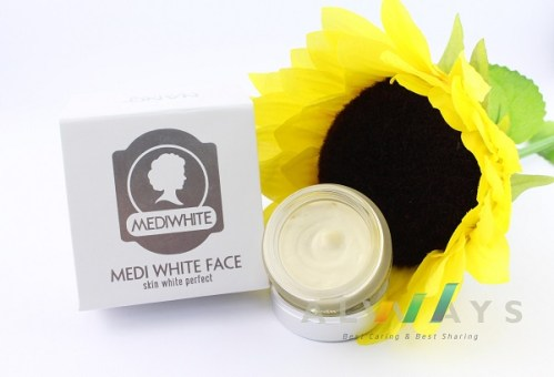 kem trắng da mặt hiệu quả Medi White Face