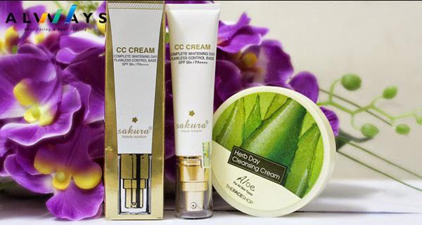 Nóng hổi: Kem Sakura CC Cream có tốt không?