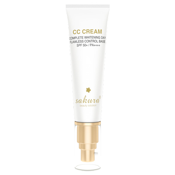 Bạn biết gì về dòng mỹ phẩm Sakura CC Cream?